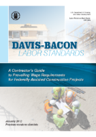 Contractors Guide to Davis-Bacon Labor Standards